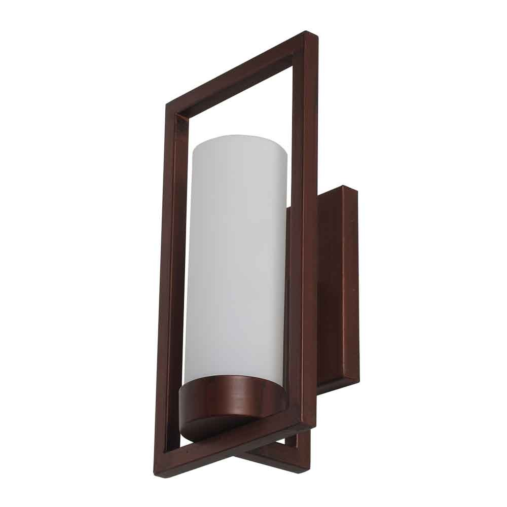 Learc Designer Lighting Contemporary Glass Metal Wood Wall Light eBay