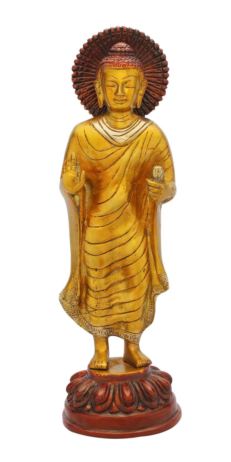 Gautam Buddha Statue Standing Buddha Statue Standing Pose